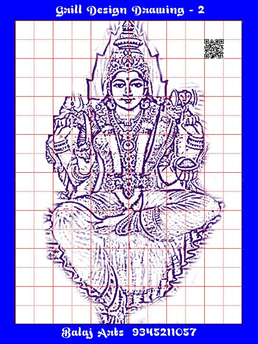 Grill Draw Balaj Arts Kanchipuram