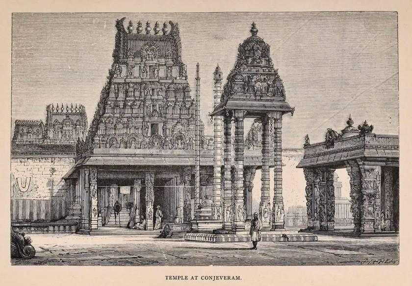 Varadaraja perusal temple drawing balajarts
